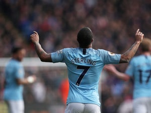 Sterling scores twice as Man City ease past West Ham