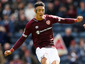 Sean Clare saves draw for Hearts in stoppage time
