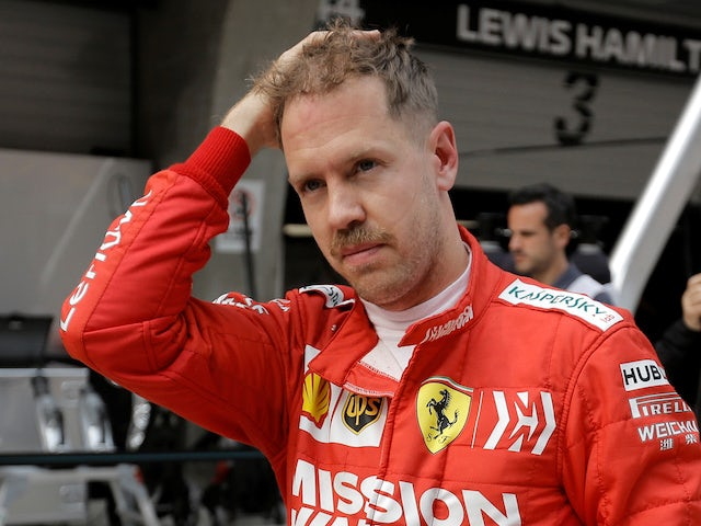 Vettel's brother plays down F1 hopes