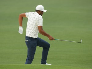 Finau sets clubhouse target on penultimate round