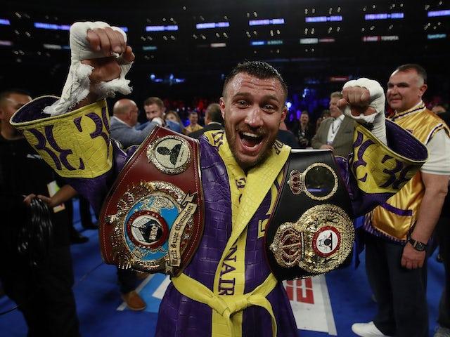 Result: Lomachenko stops Crolla to retain WBA and WBO lightweight titles