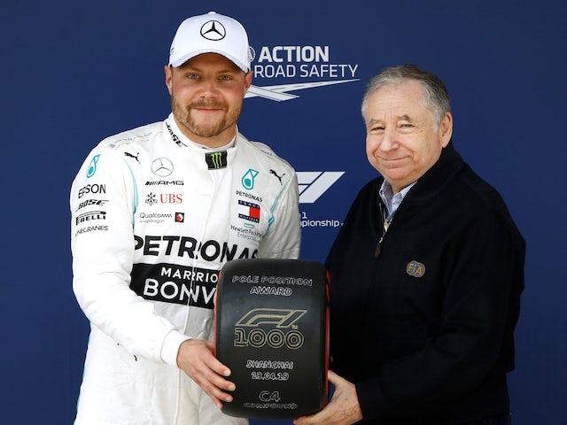 Bottas beats Hamilton to pole at Chinese GP