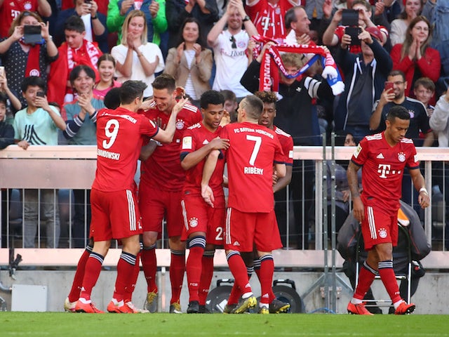 Result: Bayern beat 10-man Bremen to move four points clear