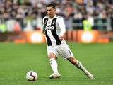 Cristiano Ronaldo in action for Juventus on April 20, 2019