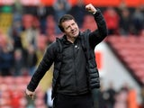 Daniel Stendel in charge of Barnsley on March 23, 2019