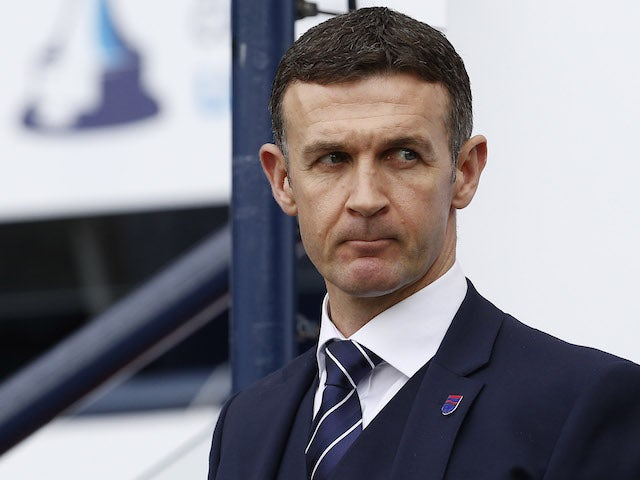 Relegated Dundee silent on Jim McIntyre's future