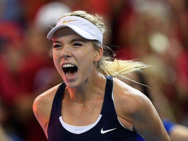 Katie Boulter plays winning hand for Great Britain against Mexico