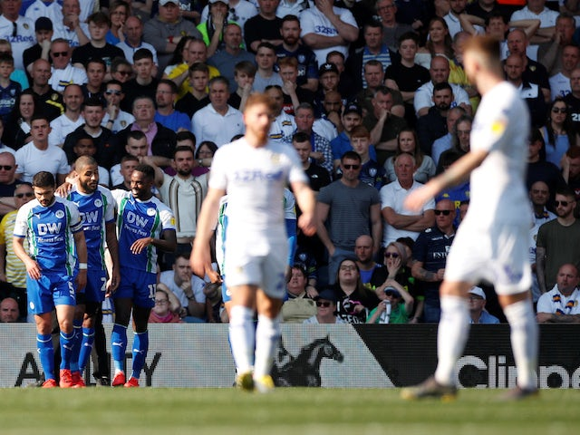 Result: Leeds promotion hopes dented by shock Wigan defeat