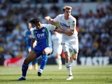 Chelsea defender Reece James in action for Wigan Athletic against Leeds United on April 19, 2019