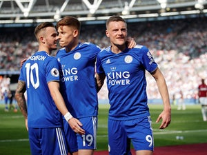 Harvey Barnes rescues late Leicester point at West Ham