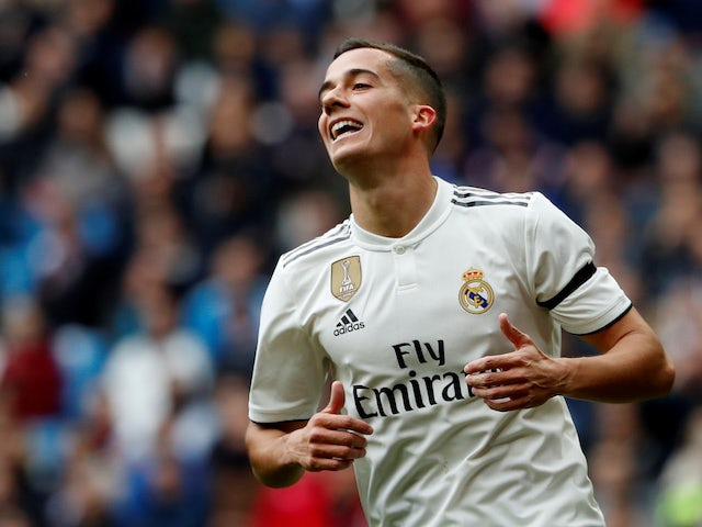 Lucas Vazquez in action for Real Madrid on April 21, 2019