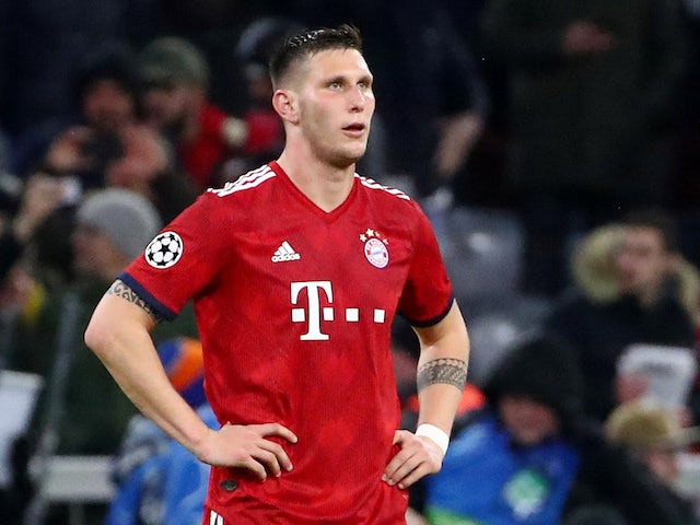 Bayern Munich defender Niklas Sule in action against Liverpool in the Champions League on March 13, 2019