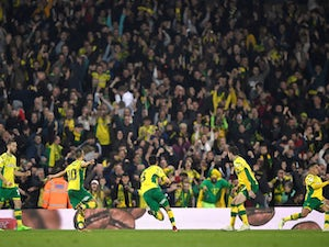 Norwich five points from promotion after rescuing late draw