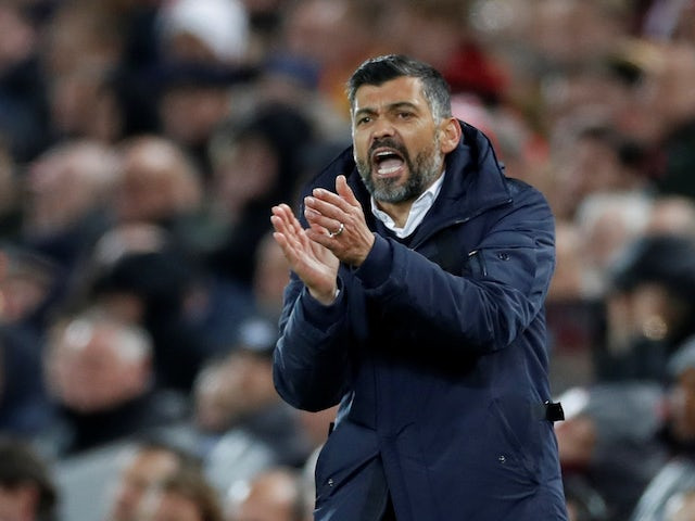Sergio Conceicao in charge of Porto on April 9, 2019