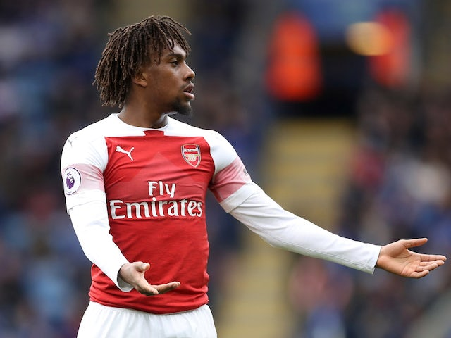Alex Iwobi: 'I may leave if Wilfried Zaha joins'