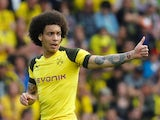 Axel Witsel pictured for Borussia Dortmund on April 21, 2019
