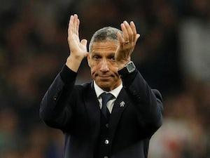 Brighton manager Chris Hughton on April 23, 2019