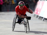 David Weir in action on March 10, 2019