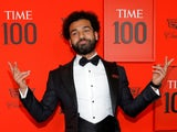 Mohamed Salah arrives at the Time 100 event in New York on April 23, 2019