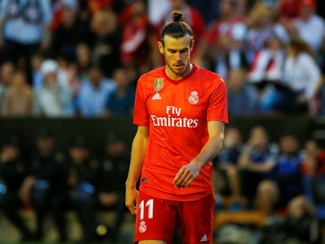 A frustrated Gareth Bale as Real Madrid struggle against Rayo Vallecano in La Liga on April 28, 2019.