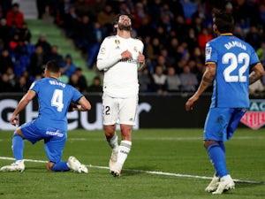Real Madrid attacker Isco in action against Getafe in La Liga on April 25, 2019