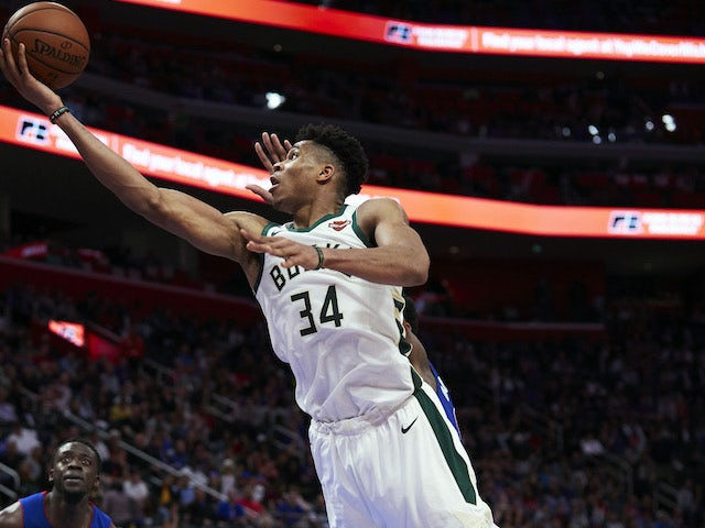Giannis Antetokounmpo named as NBA's MVP for 2018-19