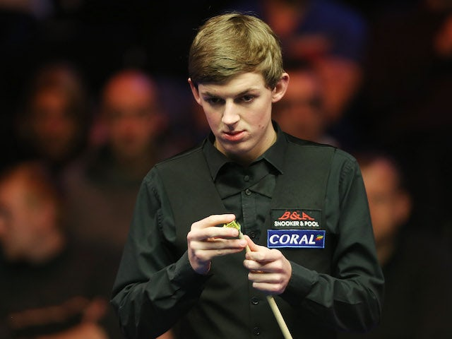 James Cahill sets sights on Crucible crown after giant-killing