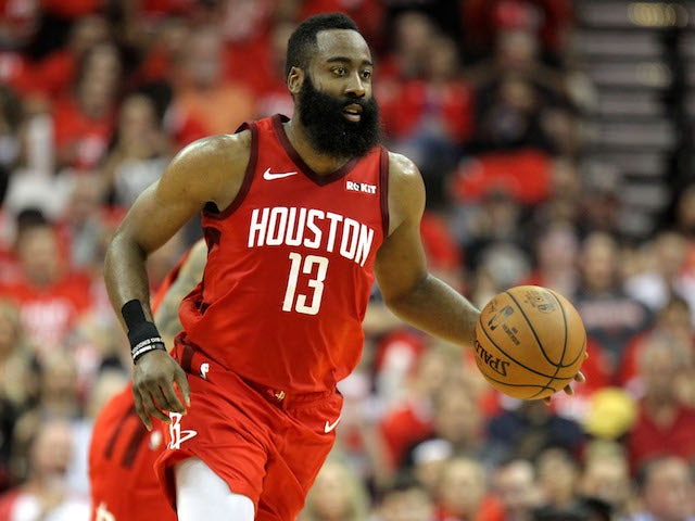 Result: James Harden leads Houston Rockets in round two