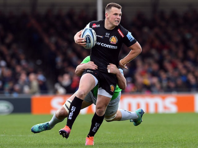 Result: Leaders Exeter earn hard-fought win over Harlequins