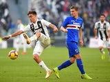 Sampdoria midfielder Dennis Praet in action against Juventus in December, 2018