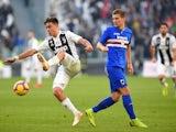 Sampdoria midfielder Dennis Praet in action against Juventus in December, 2018