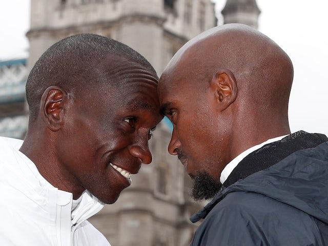 Eliud Kipchoge eyes London Marathon record to beat Mo Farah