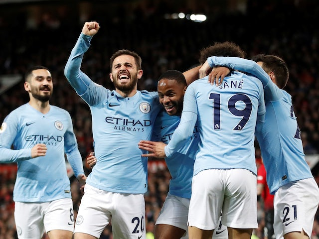 Result: Man City take giant stride towards title with derby win over Man Utd
