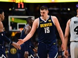 Nikola Jokic in action for Denver Nuggets on April 27, 2019