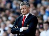 Unimpressed Manchester United manager Ole Gunnar Solskjaer pictured on April 21, 2019