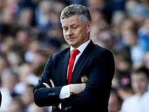 Unimpressed Manchester United manager Ole Gunnar Solskjaer pictured on April 21, 2019