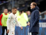 Kylian Mbappe sees red on April 27, 2019