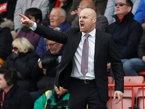 Sean Dyche unsurprised by Burnley struggles