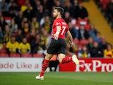 Shane Long celebrates scoring for Southampton on April 23, 2019