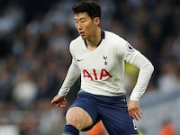 Son Heung-min in action for Spurs on April 23, 2019