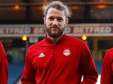 Aberdeen's Stevie May pictured in October 2018