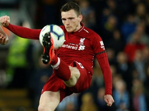 Andrew Robertson in action for Liverpool on April 26, 2019