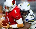 Arizona Cardinals Josh Rosen - Los Angeles Chargers Melvin Ingram III