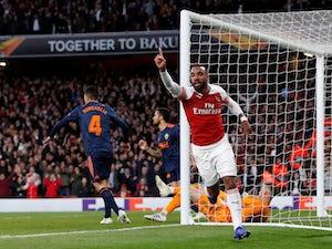 Arsenal boss Unai Emery: 'Tie is still 50-50 despite two-goal lead'