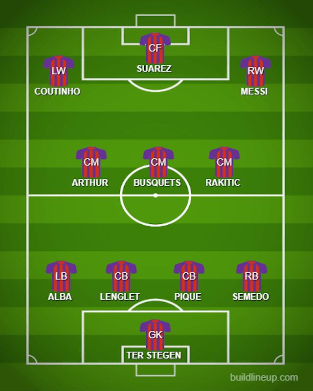 Possible BAR XI vs. LIV
