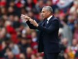 Brighton manager Chris Hughton pictured on May 5, 2019