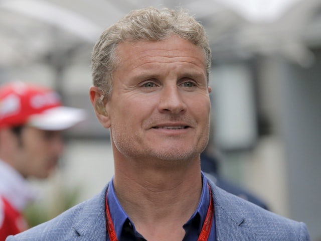 David Coulthard pictured in April 2016