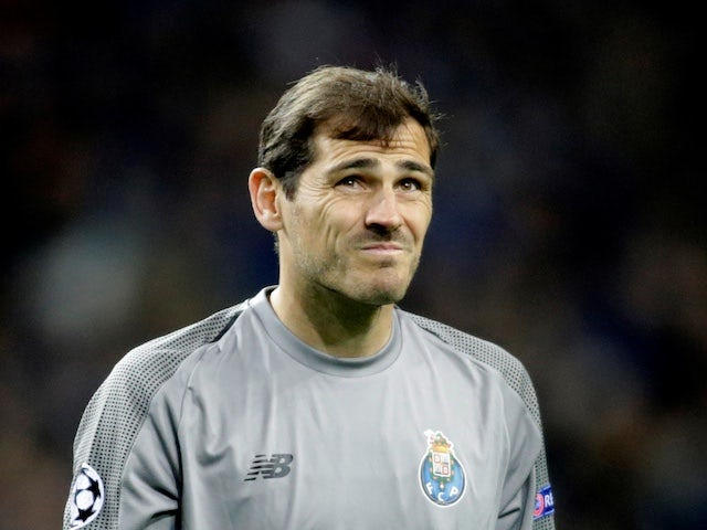 Iker Casillas suffers suspected heart attack
