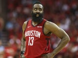 James Harden in action for Houston Rockets on May 4, 2019