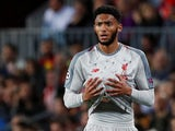 Liverpool defender Joe Gomez in action during his side's Champions League semi-final first leg against Barcelona on May 1, 2019